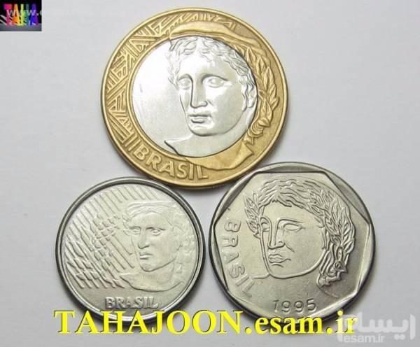 3 سکه کمیاب برزیل با کیفیت بسیارعالی