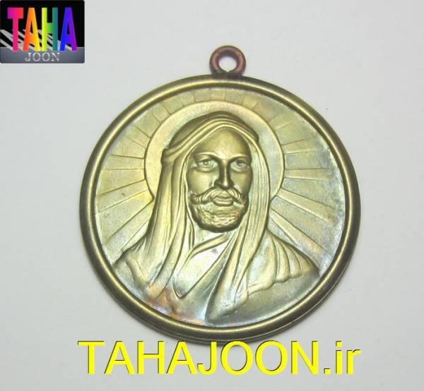 مدال زیبای حضرت علی (ع) قدیمی کیفیت بسیار عالی